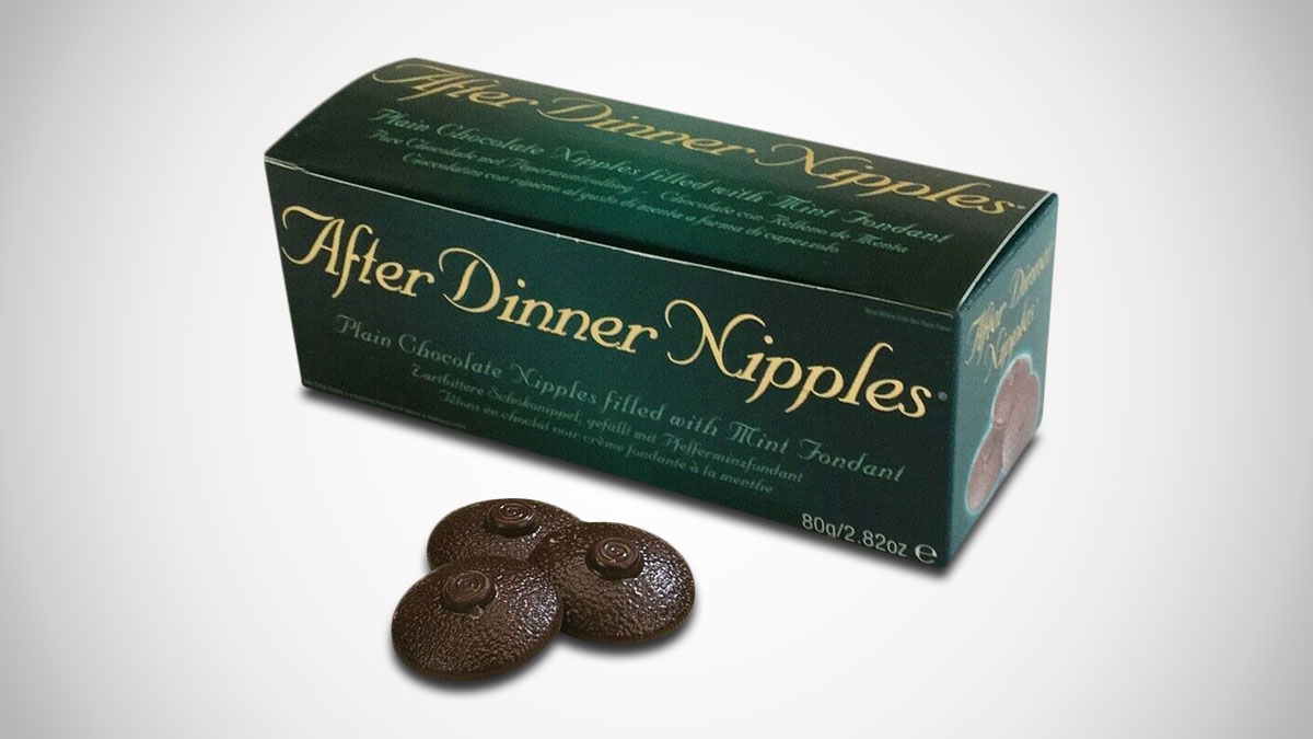 After Dinner Nipples - Mint Chocolate Boobies