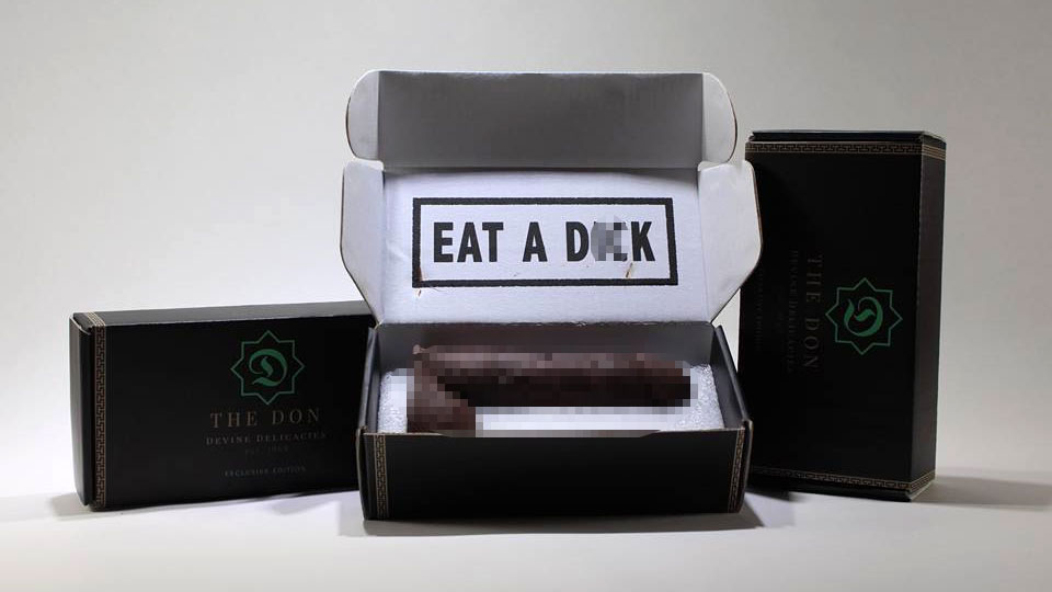 Eat a D**k Anonymous Chocolate by Mail