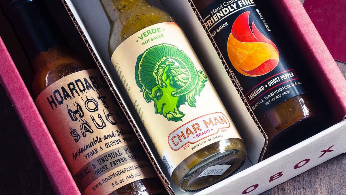 Fuego Box Craft Hot Sauce Club