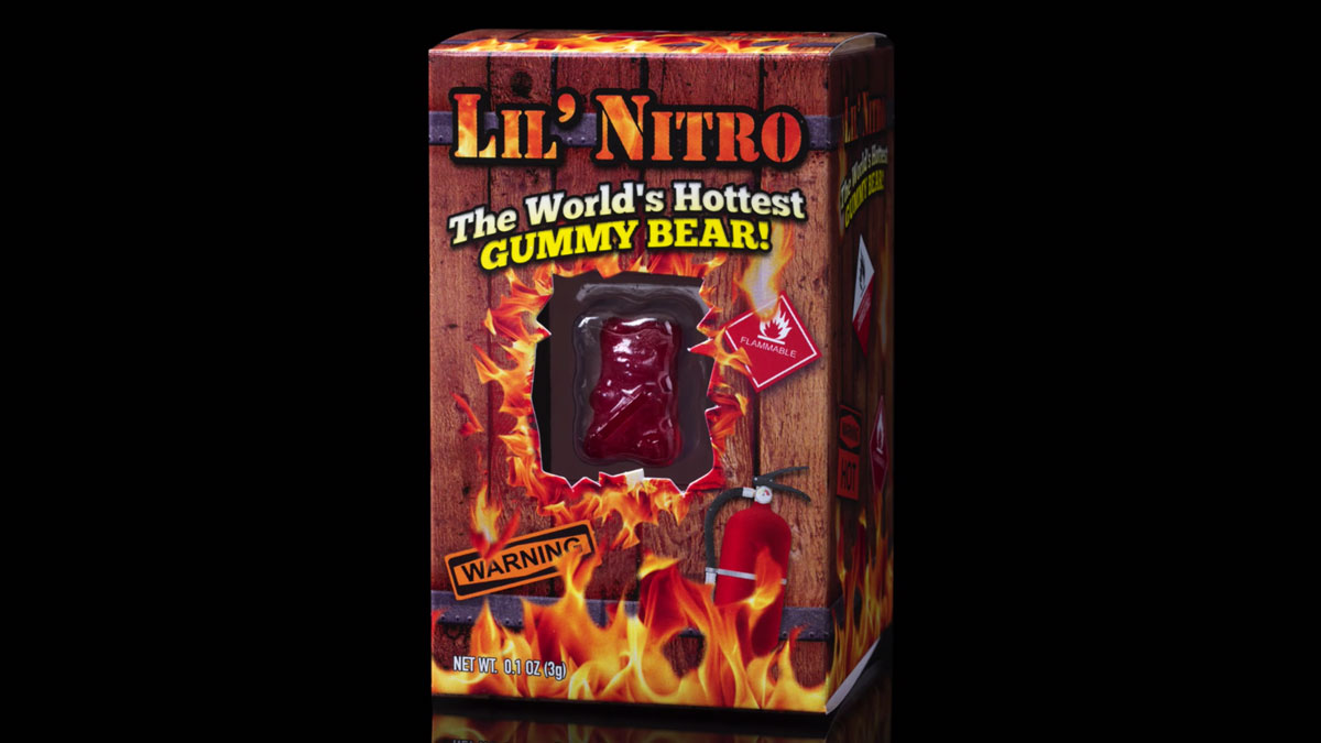 Lil' Nitro - The World's Hottest Gummy Bear