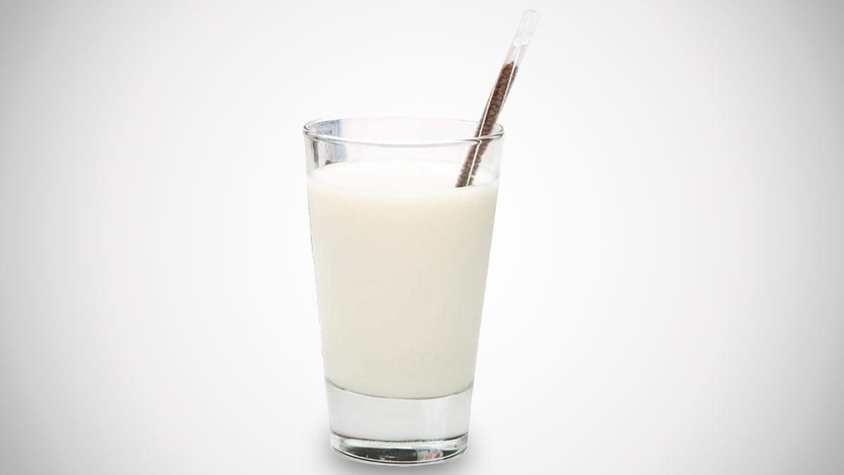 Magic Milk Flavored Straws