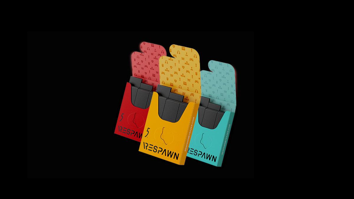 Razer RESPAWN By 5 Mental Performance Booster Gum