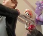 Zombie Wedding Cake Topper