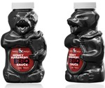 Honey Badger BBQ Sauce - Front and Side Views