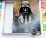 Darth Vader with LED Lightsaber Ice Pop Maker