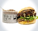 Skillet Bacon Jam on Burger