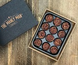 Chocolate Dipped Bacon Roses
