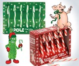 Pickle & Bacon Candy Canes