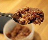 Skillet Bacon Jam on Spoon