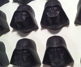 Star Wars Chocolates - Solid Chocolate Darth Vader