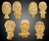 Your Face on an Animal Cookie