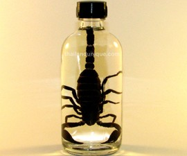Banana Flavored Scorpion Vodka