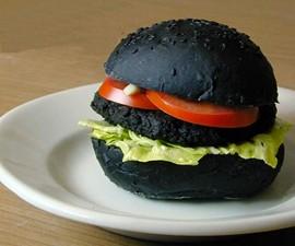 DIY Jet Black Hellfire Burgers