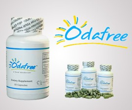 Odafree - Fecal & Gas Odor Pills