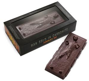 Han Solo Carbonite Chocolate Bar