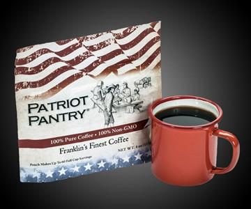 Franklin's Finest Emergency Survival Coffee