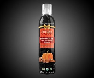 Pumpkin Spice Spray-On Cooking Spice