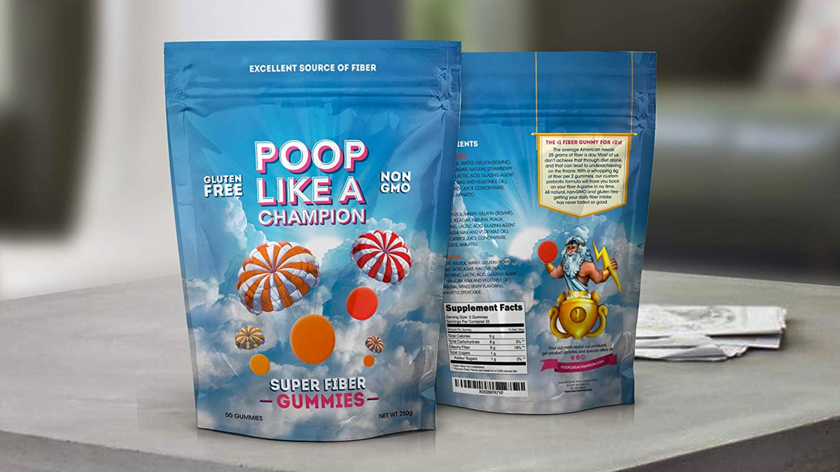 Poop Like a Champion Gummies