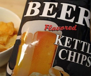 Beer-Flavored Potato Chips