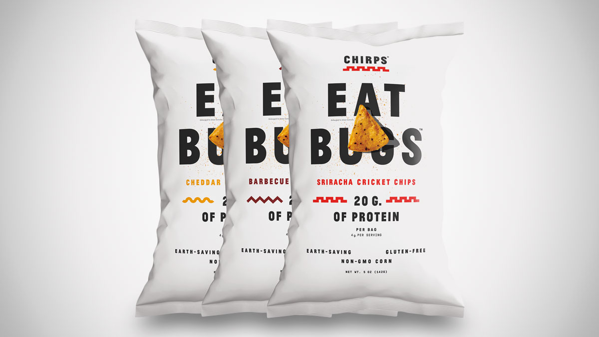 Chirps Cricket Protein Chips
