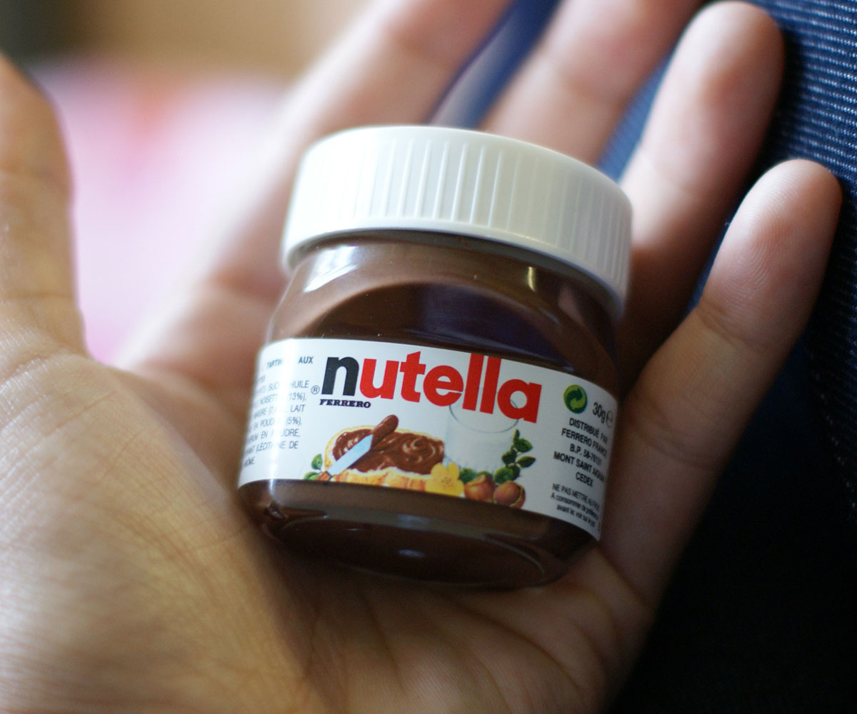 Mini Nutella Jars | DudeIWantThat.com