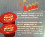 Protein Ketchup Advertisement