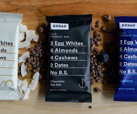 RXBARs - Whole Food Protein Bars