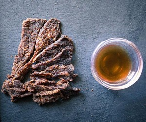 Whiskey Beef Jerky