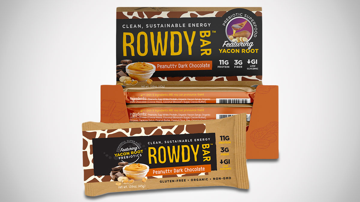 Rowdy Prebiotic Energy Bars
