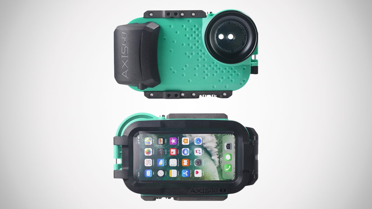 buy online 93307 0fa8e AxisGO iPhone X Waterproof Photo & Video Case