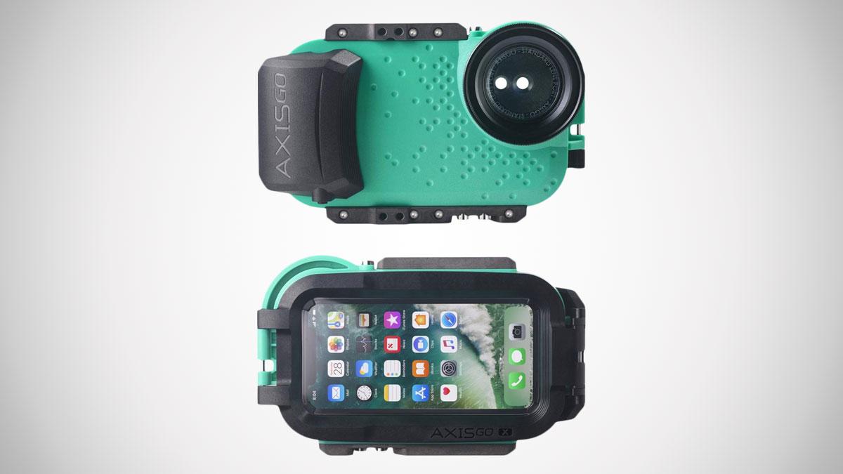 AxisGO iPhone X Waterproof Photo & Video Case