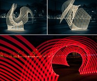 Pixelstick Light Painting System