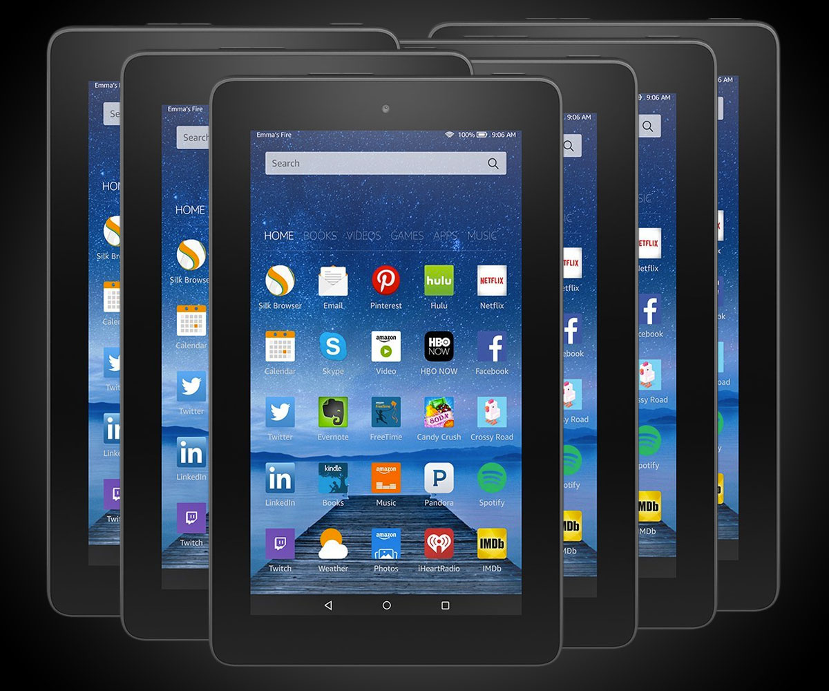 Amazon: 6-Pack Of Amazon Fire Tablets