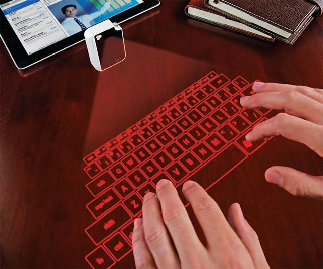 Laser keyboard iphone 5