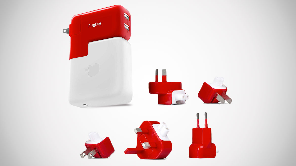 PlugBug Duo MacBook Travel Adapter & USB Device Charger