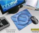 Condom Wrapper Mouse Pad