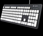 Logitech Washable Keyboard - Front View