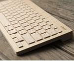 Solid Maple Keyboard