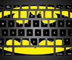 Batman Keyboard Stickers