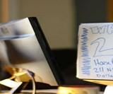 DrawAttention Laptop Lid Whiteboard