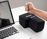 Punchable USB-Connected Enter Key Pillow