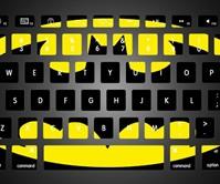 Batman Keyboard Stickers