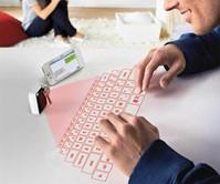 Keychain Laser Virtual Keyboard