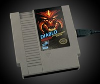 Diablo NES Cartridge Hard Drive