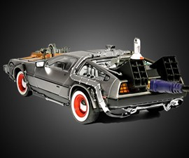 DeLorean External Hard Drive