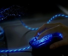 Reactive EL Wired Gaming Mouse