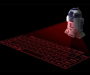 R2-D2 Virtual Laser Keyboard with Sound