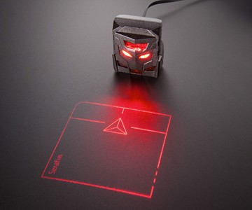 ODiN Aurora Projection Mouse