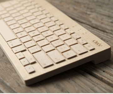 Solid Maple Keyboard