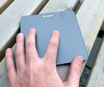 Wireless Rechargeable Touchpad
